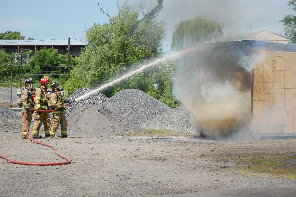 Fire Hose Training