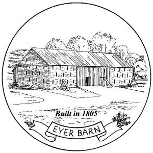 Eyer Barn - Built in 1805.