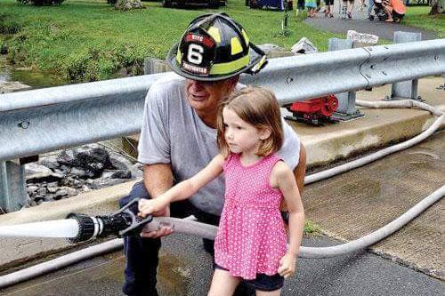 Girl with Fireman