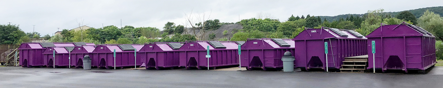 Recycling Bins at Union Township